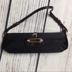 Black Jimmy Choo clutch